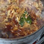 Gerookte uien soep