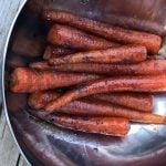 Gekarameliseerde Wortels van de Barbecue